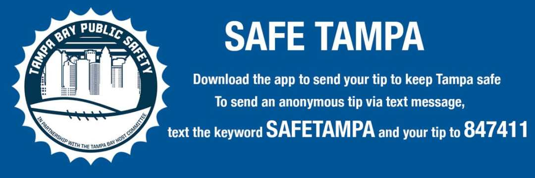 SafeTampa anonymous tip public safety