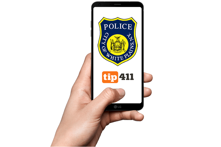 White Plains smartphone anonymous tip app
