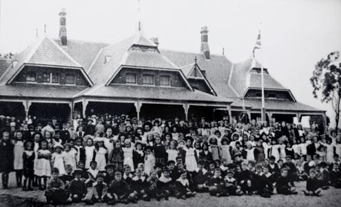 Avoca school 1878