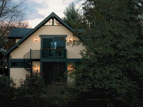 แบบบ้านไม้ ภายใต้อากาศสดชื่น