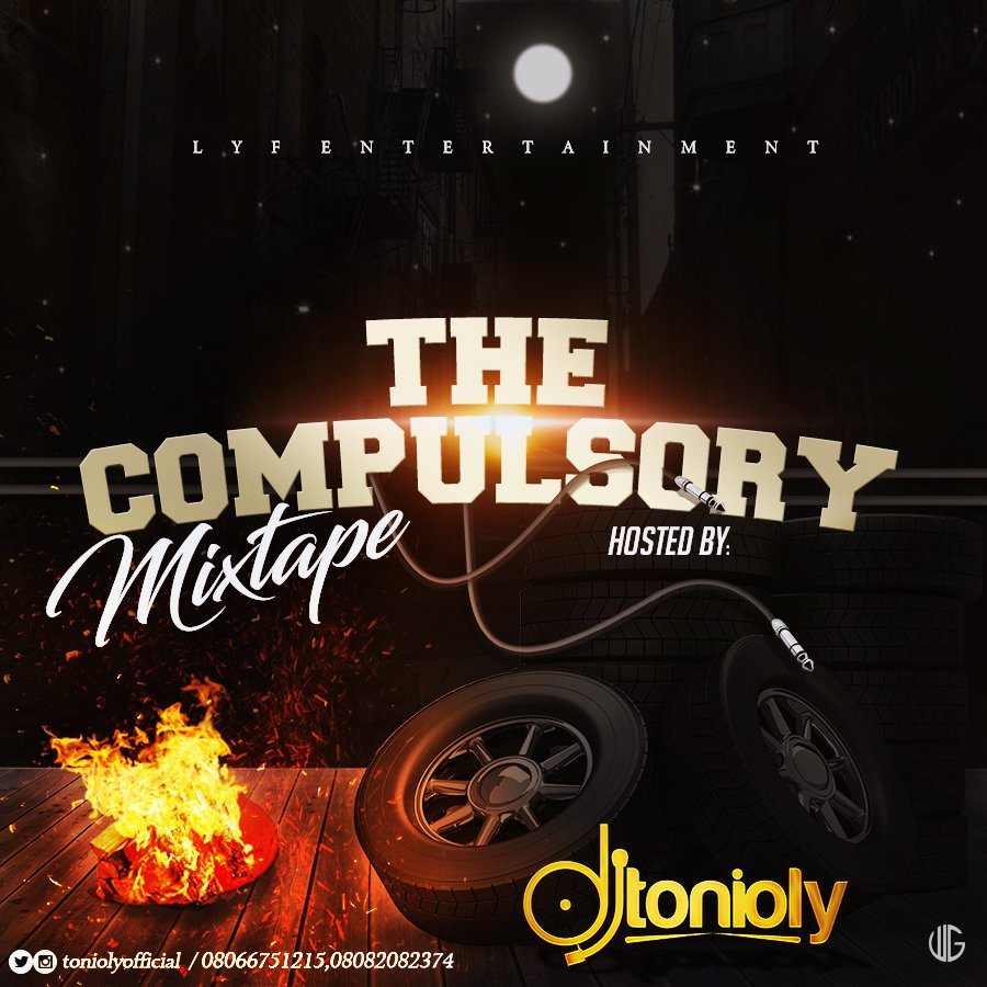 "MIXTAPE: DJ Tonioly - ""The Compulsory Mix"" [2018 Mix]"