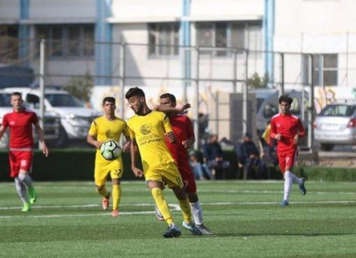 فريقا بيت حانون الأهلي وخدمات خانيونس في دوري غزة