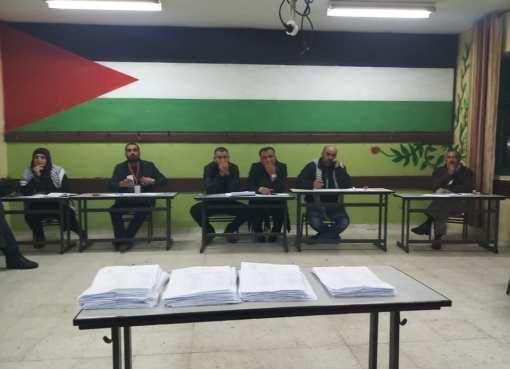 انتخابات حركة فتح إقليم شمال الخليل - فلسطين