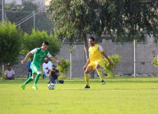مباراة شباب جباليا في دوري غزة لكرة القدم