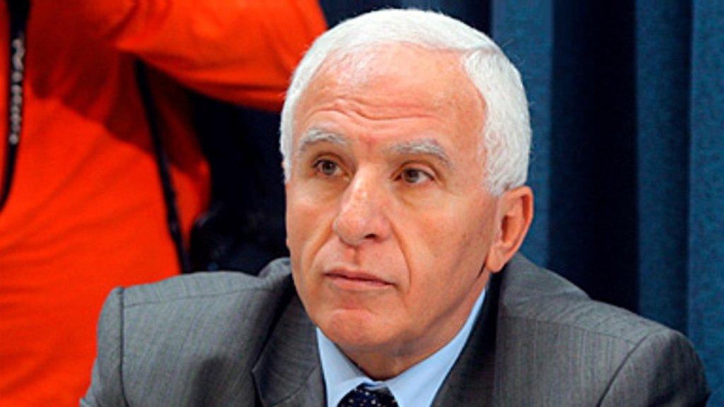 عضو اللجنة المركزية لحركة فتح عزام الأحمد
