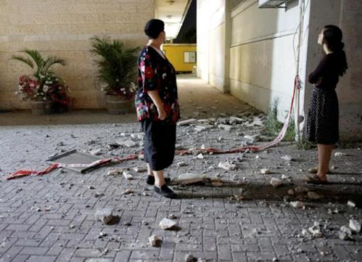 إطلاق صاروخ من غزة على سديروت