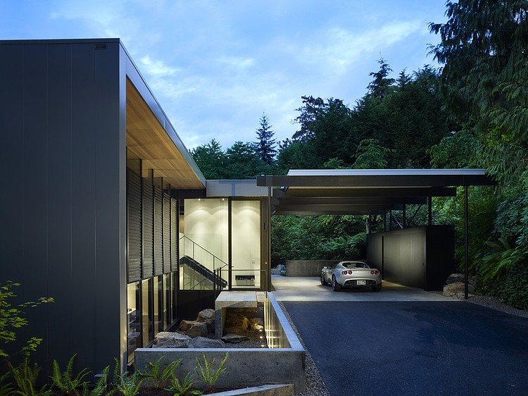 Wood Block Residence By Chadbourne Doss Architects