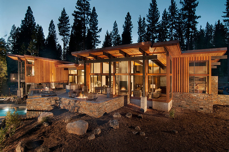 Lake Tahoe Residence By Bethe Cohen Design HomeAdore