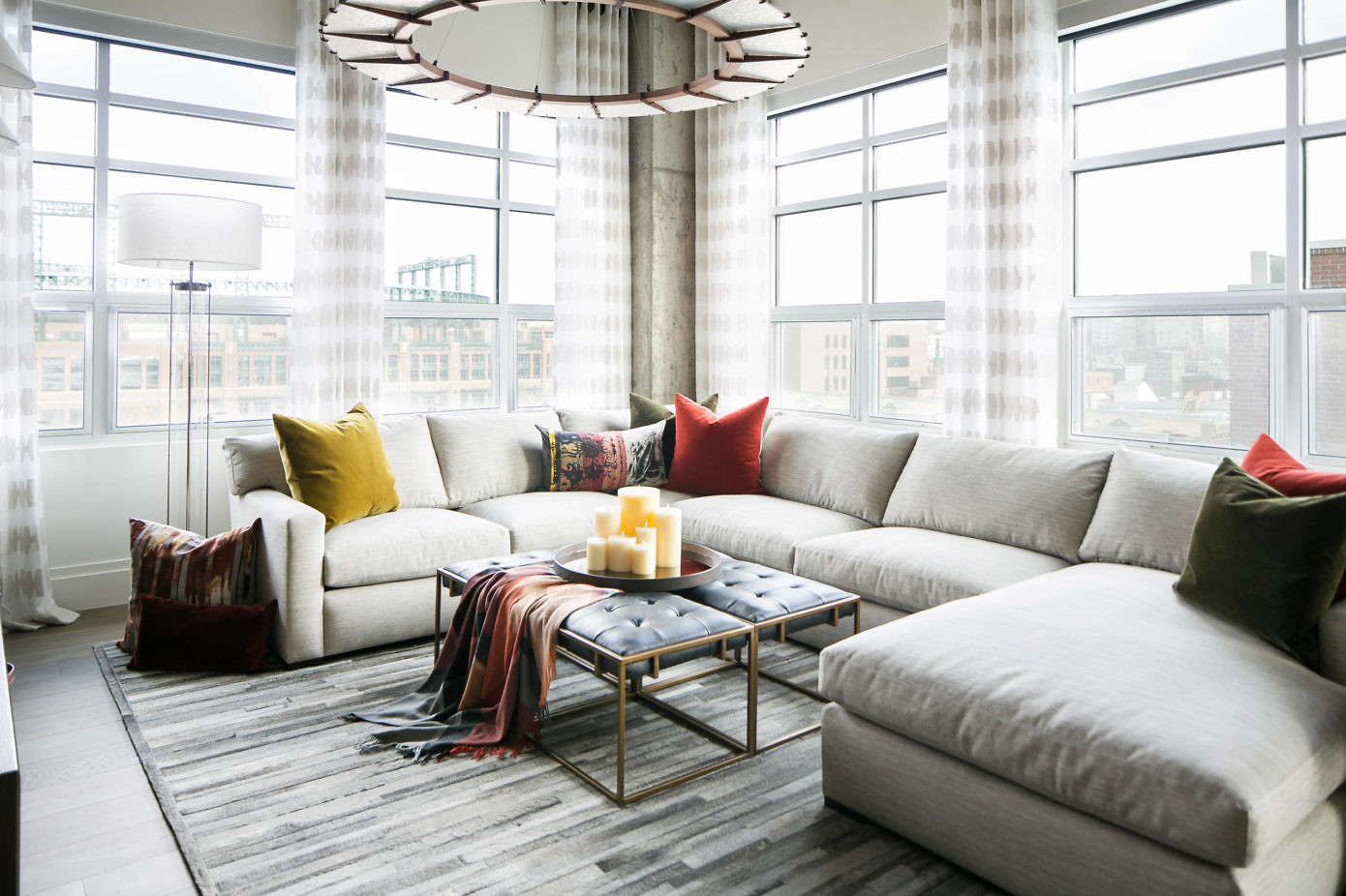 Denver Loft Style Living By Robeson Design HomeAdore