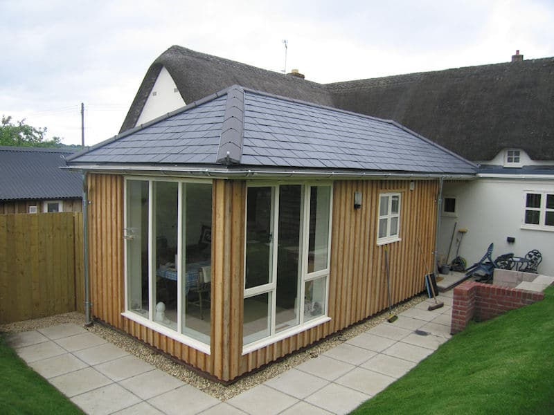 Low cost house extensions uk styling hair extensions for Prefab conservatory