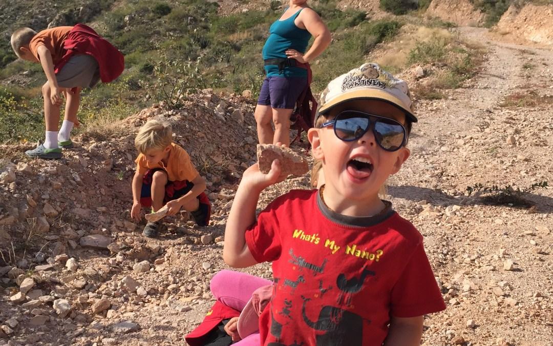 Hiking in Cabo Pulmo a Steep Climb!