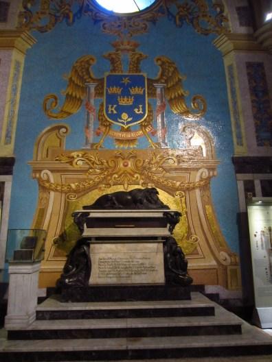 Pizarro's tomb.