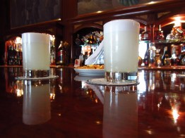 Pisco sours at the bar where they were invented.