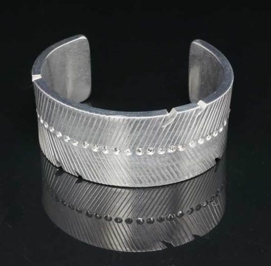 Decontie & Brown feather bracelet