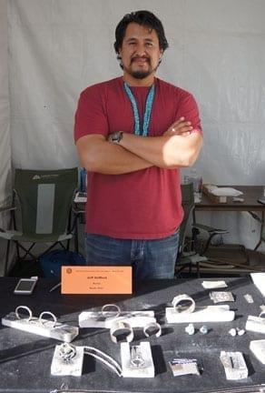 Jeff DeMent Navajo Silversmith