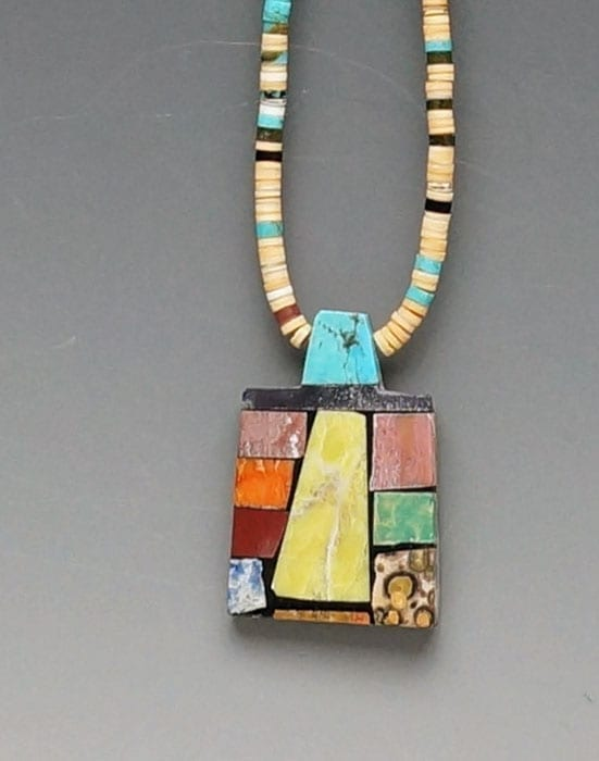 Mary Tafoyta Mosaic Necklace 5
