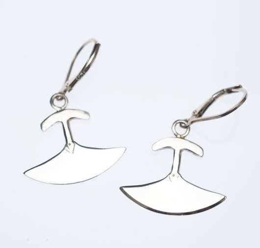 Mathew Nuqingak Ulu Earrings