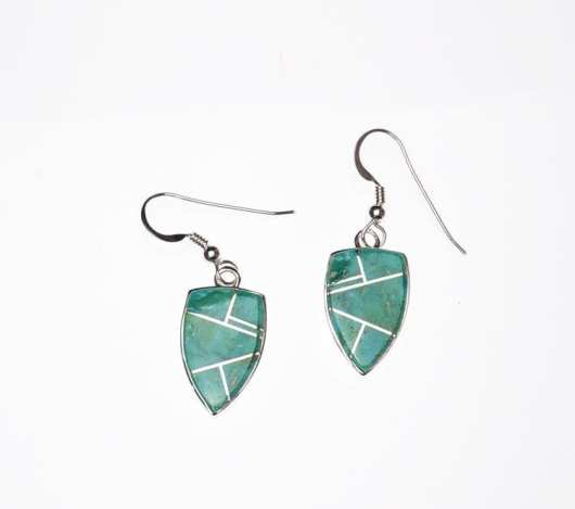 Earl Plummer Shield Earrings