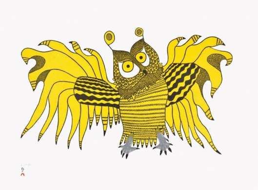 Ooloosie Saila Ornamental Owl