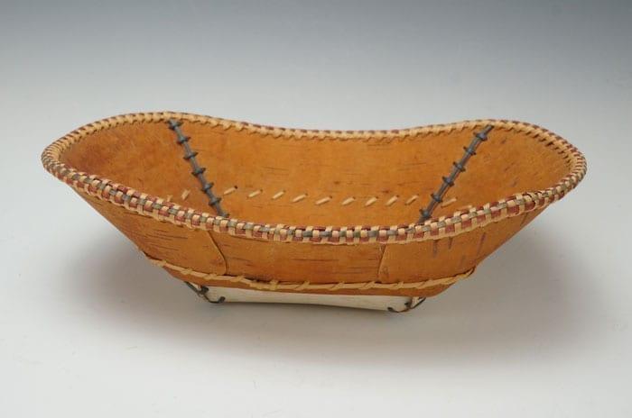 Dorothy Savage Joseph birch bark tray