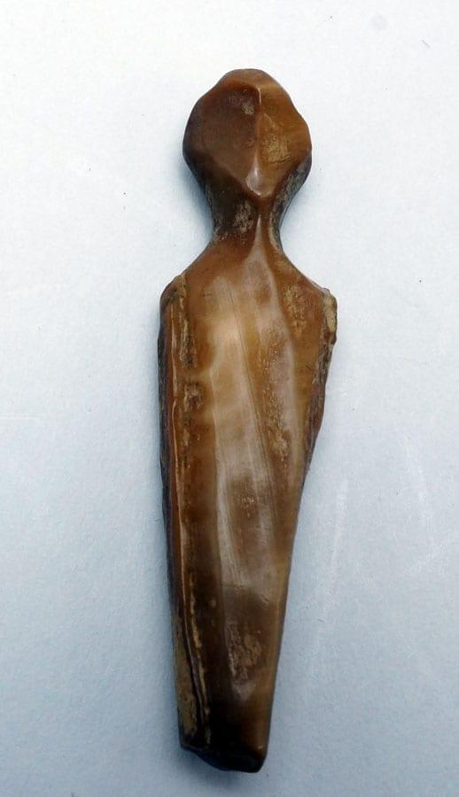Punuk Eskimo ivory Doll Torso