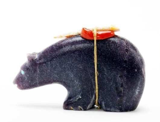 Priscilla Lasiloo Lepidolite Bear