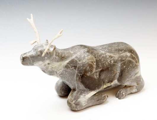 Seemee Kanayuk resting caribou