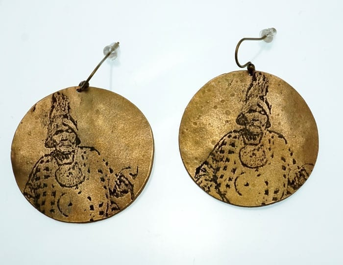 Suzanne Greenlaw Molly Molasses Earrings