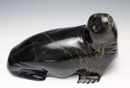 Ningeosiak Ashoona Resting Seal