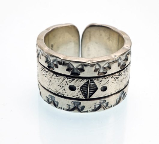 JJ Otero Geometric Designs Ring