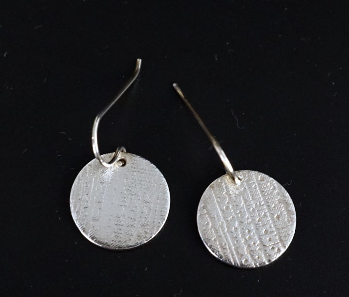 Chris Pruitt Coin Earrings 2