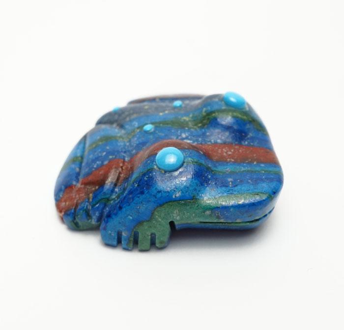 Georgette Quam Rainbow Calsilica Frog
