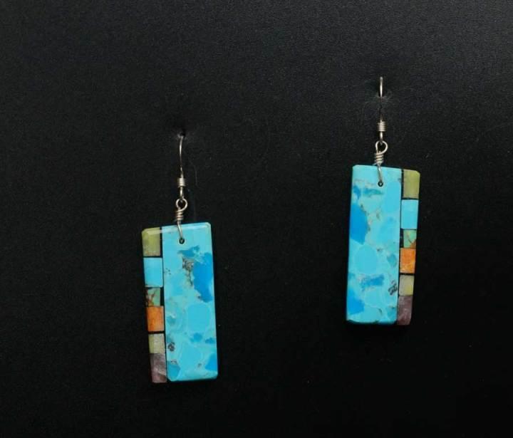 Mary Tafoya Turquoise earrings