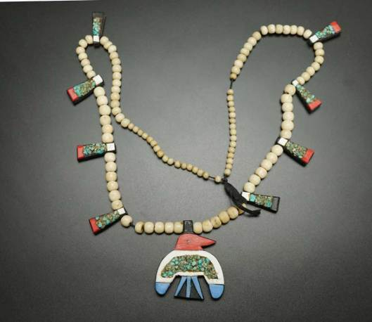 Depression Era Thunderbird Necklace 2