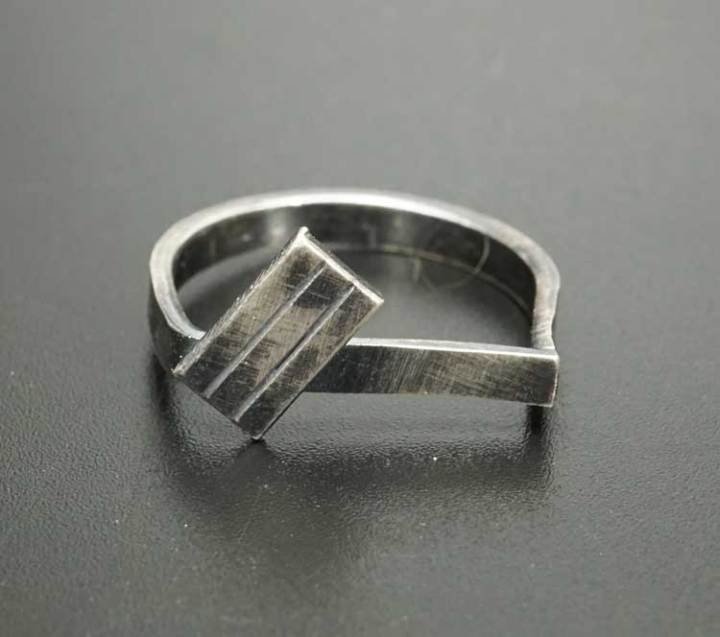 Margaret Jacobs Geometric Design Ring
