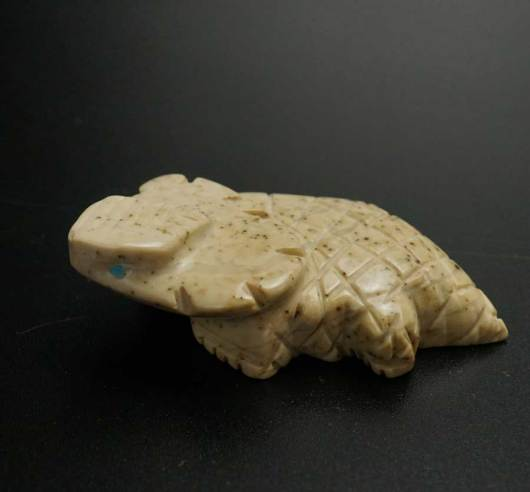 Gilbert Lonjose Soapstone Horned Toad