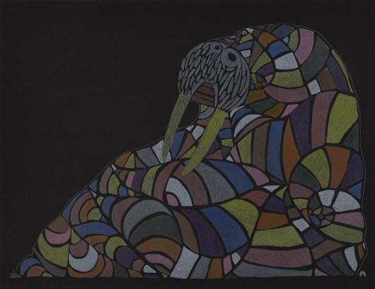 NINGIUKULU TEEVEECozy Walrus