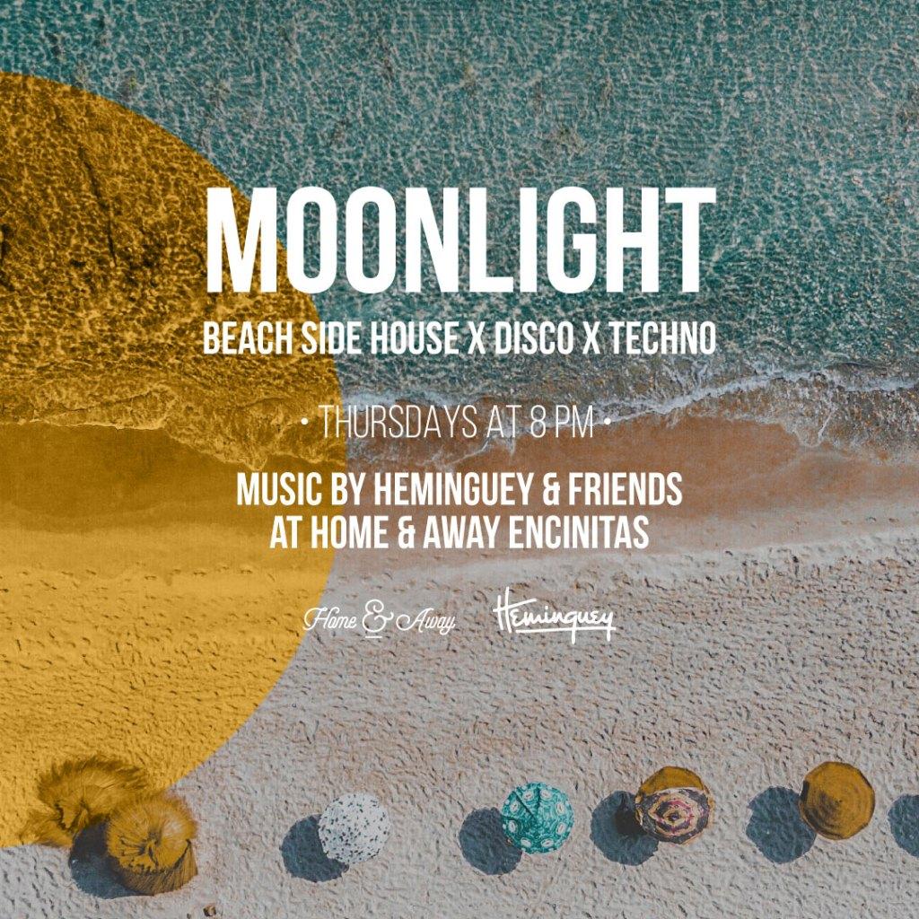 Live Music - Moonlight with Heminguey - Home & Away Encinitas