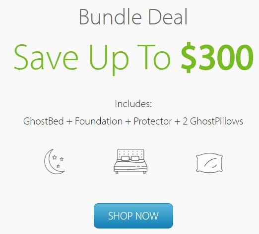 Ghostbed bundle deal