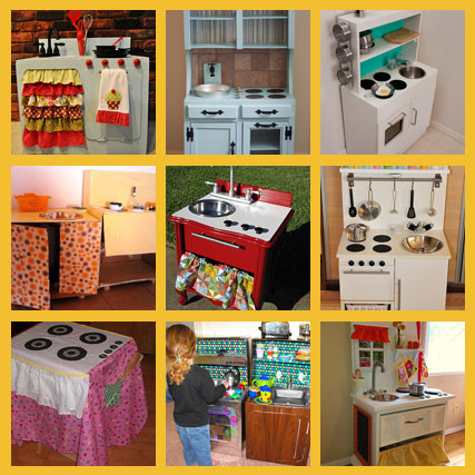 9 Cool Play Kitchens Home And Garden