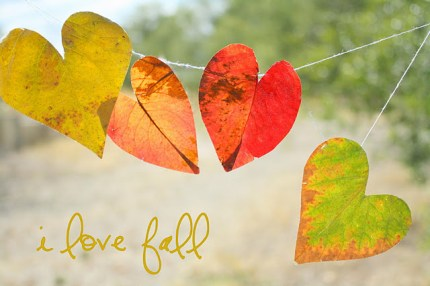 Heart Leaf Garland