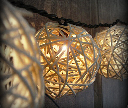 DIY Patio String Lights
