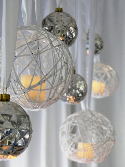Christmas Candle Chandelier