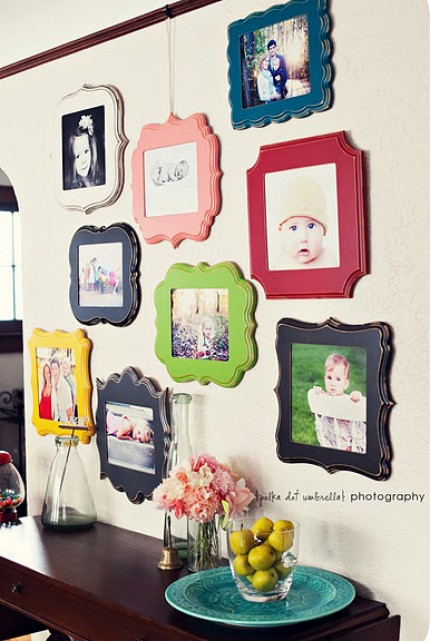 Colorful Framed Photos