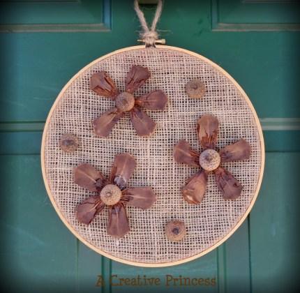 Pinecone Door Art