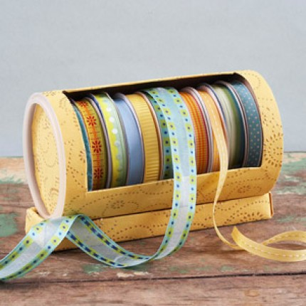 Recycled Ribbon Holder