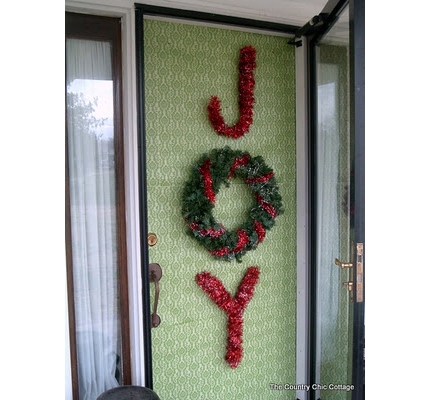 Christmas Joy Door