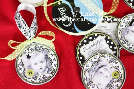 Juice Top Photo Ornaments