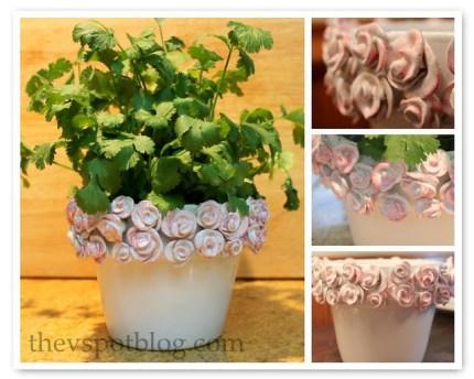 Guest Post: Clay Rose Pot