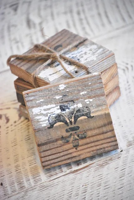 Barn Wood Coasters